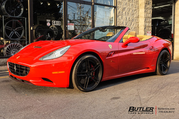 Ferrari California with 21in ADV1 ADV05 MV2 Track Spec Wheels