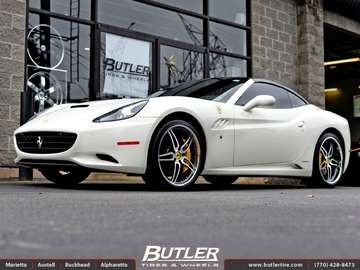 Ferrari California with 21in GFG California Wheels