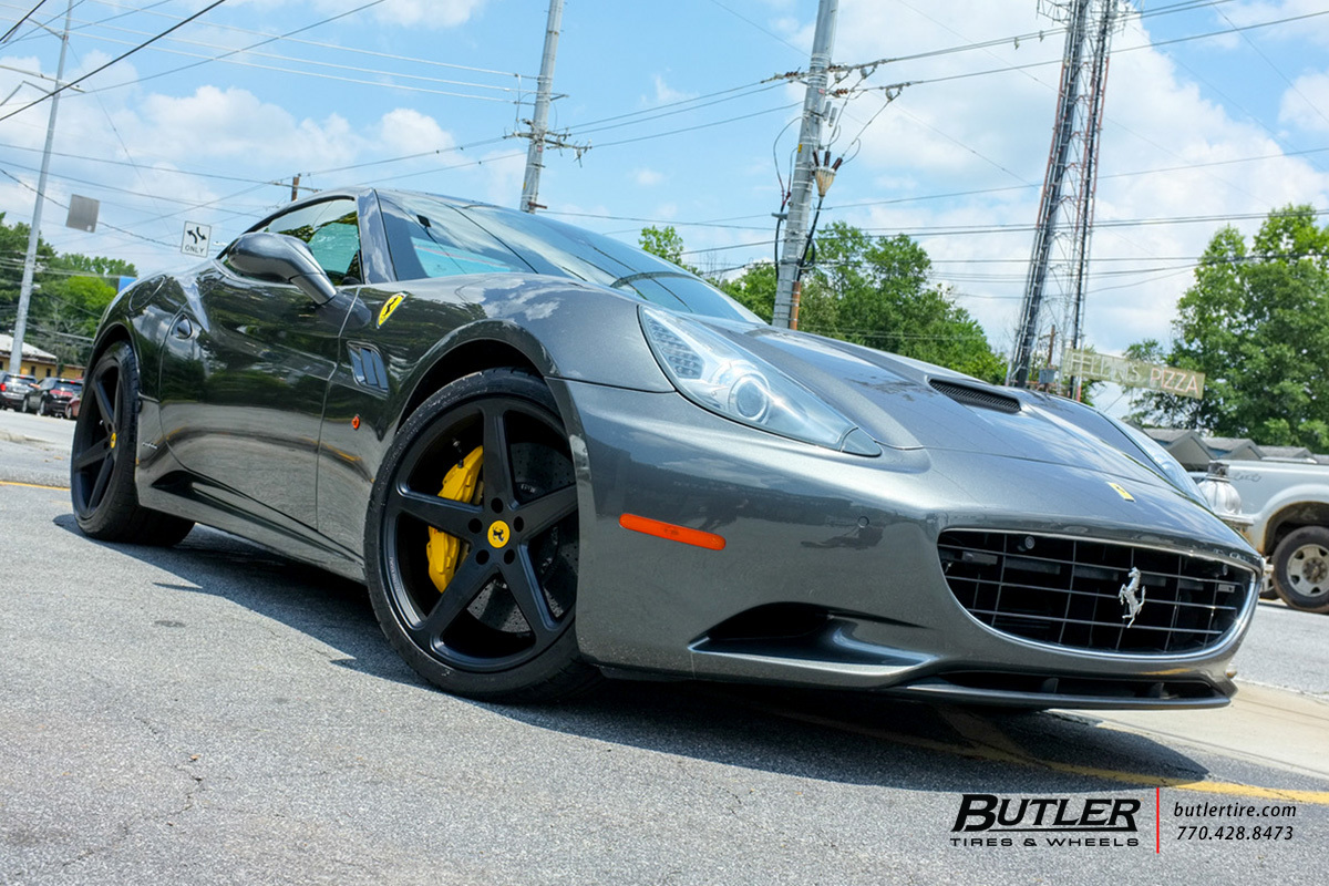 Ferrari California with 21in Vossen CG-201 Wheels