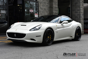 Ferrari California with 22in AG Luxury AGL42 Wheels