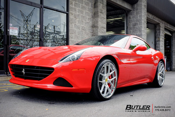 Ferrari California with 22in Mint Marinello Wheels