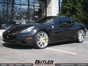 Ferrari California with 22in Mint Palermo Wheels
