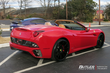 Ferrari California with 22in Savini BM12 Wheels