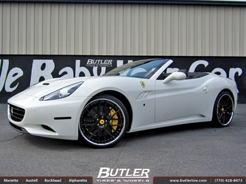 Ferrari California with 22in Vellano VKK Wheels