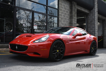 Ferrari California with 22in Vossen HF-2 Wheels