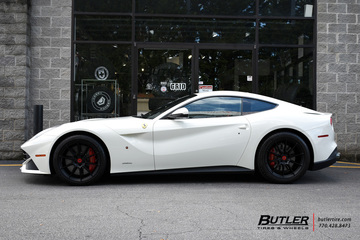 Ferrari F12 with 20in Avant Garde F322 Wheels