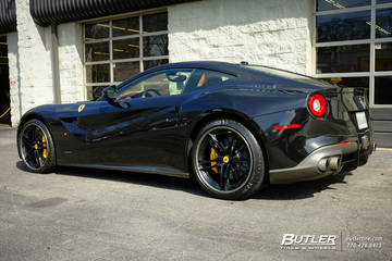 Ferrari F12 Berlinetta with 21in HRE S207 Wheels