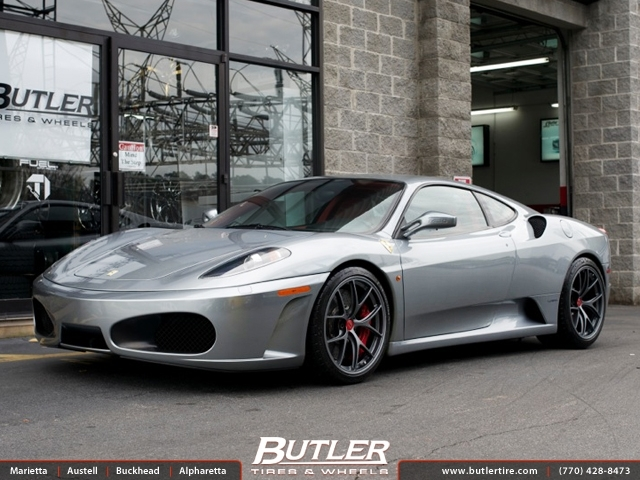 Ferrari F430 with 19in BBS FL Wheels exclusively from ...