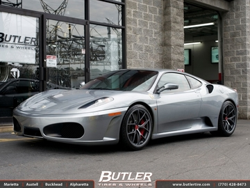 Ferrari F430 with 19in BBS FL Wheels
