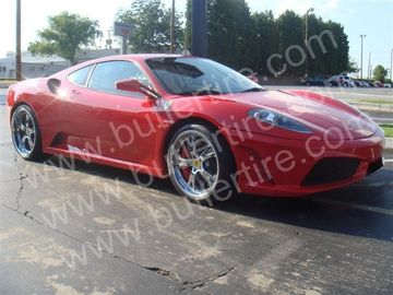 Ferrari F430 with 20in Autcouture Tension 5 Wheels