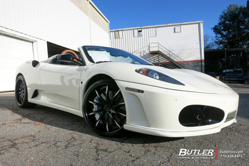 Ferrari F430 with 20in Lexani LF101 Wheels
