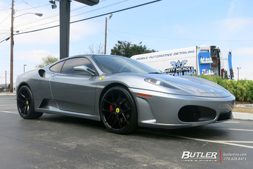 Ferrari F430 with 20in Savini BM14 Wheels