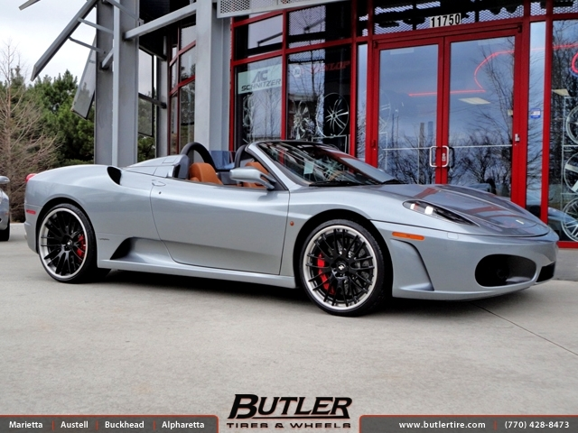 Ferrari F430 with 21in Niche Zurich Wheels