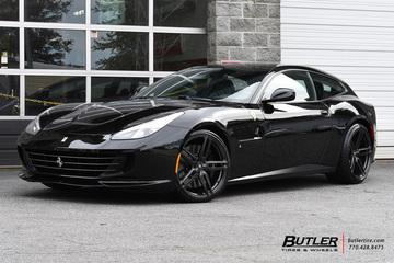 Ferrari GTC4Lusso with 21in Vossen HC-1 Wheels