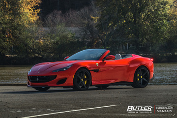 Ferrari Portofino with 21in Vossen CG-201 Wheels