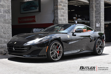 Ferrari Portofino with 21in Vossen S21-01 Wheels