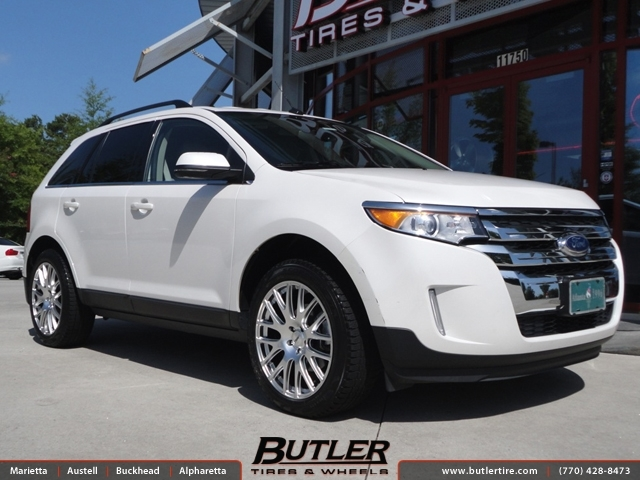 Ford Edge With In Tsw Mugello Wheels