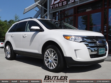 Ford Edge with 20in TSW Mugello Wheels