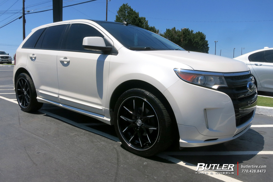 Ford Edge With 22in Lexani R Twelve Wheels Exclusively