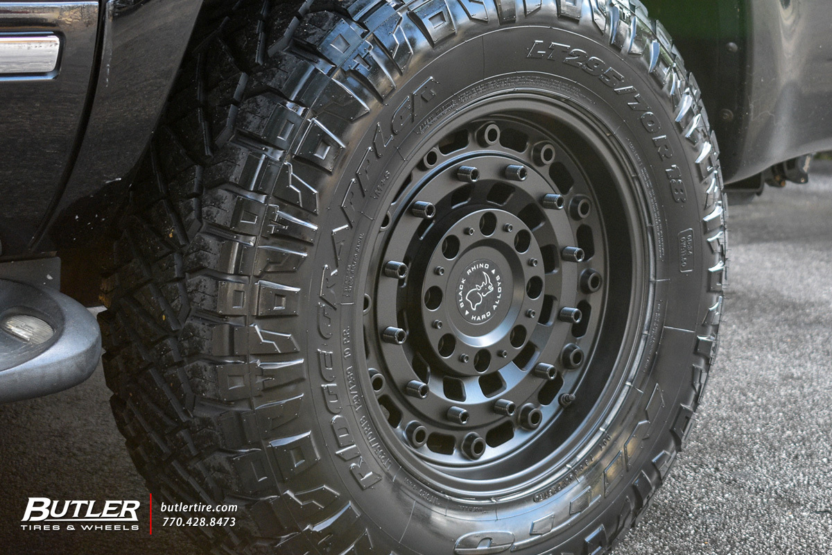 Ford Excursion with 18in Black Rhino Arsenal Wheels exclusively from Butler Tires and Wheels in ...