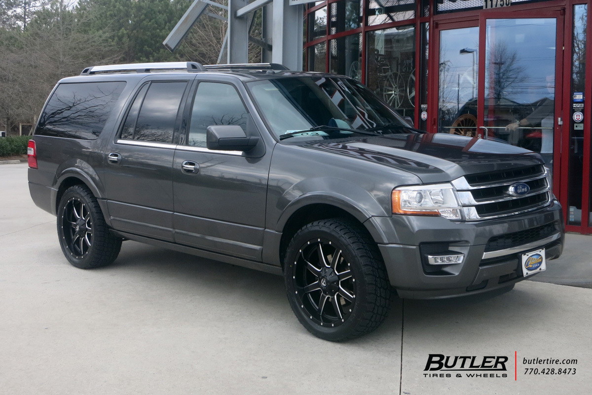 Ford Expedition with 22in Fuel Maverick Wheels exclusively ...