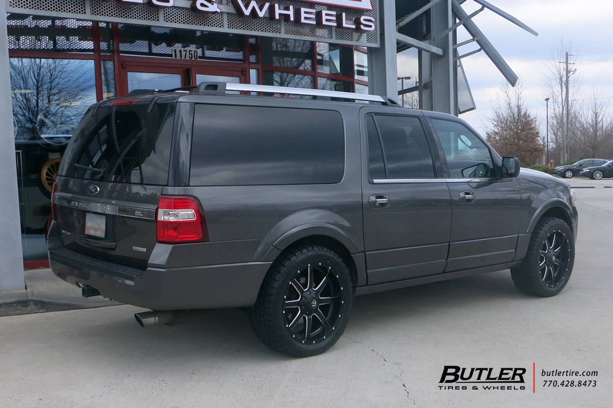 Ford Expedition With 22in Fuel Maverick Wheels Exclusively