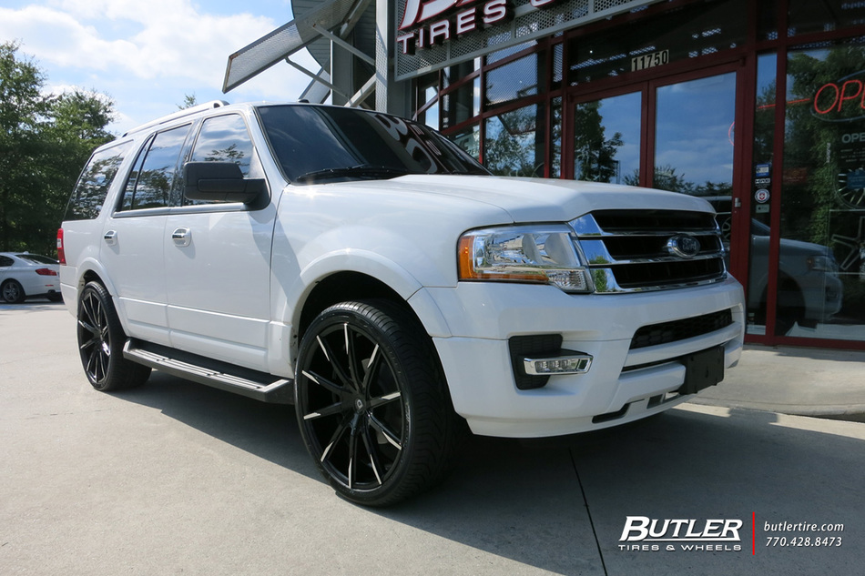 Ford Expedition With 24in Lexani Css15 Wheels Exclusively