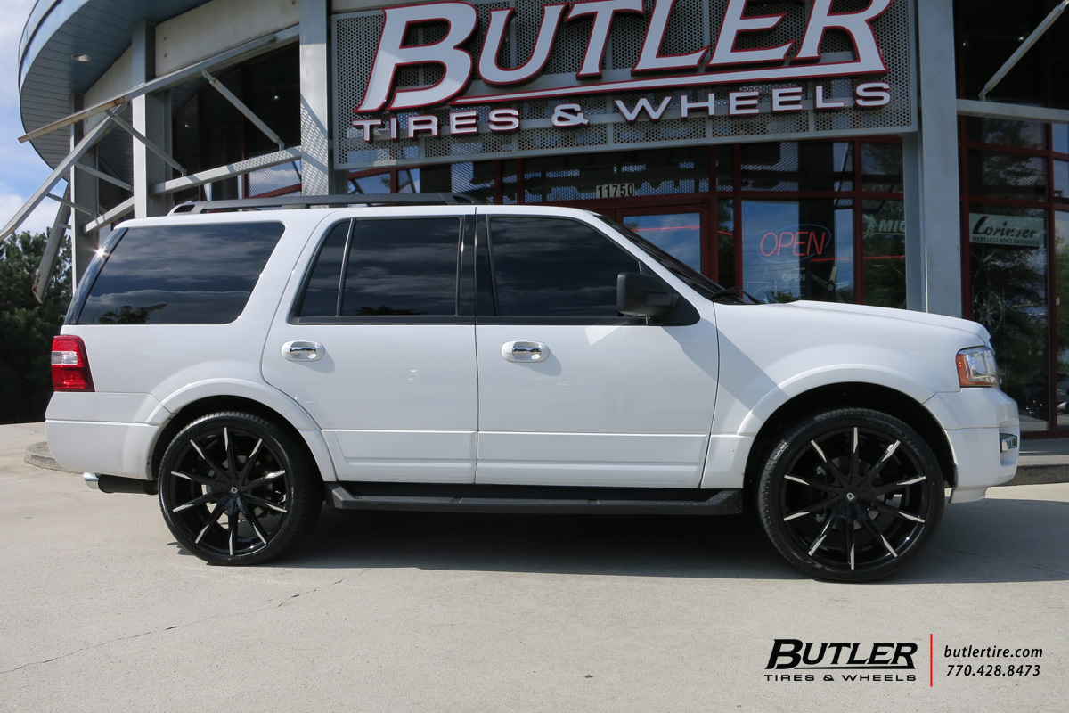 Ford Expedition with 24in Lexani CSS15 Wheels exclusively ...