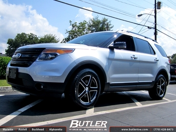 Ford Explorer with 18in TSW Rivage Wheels