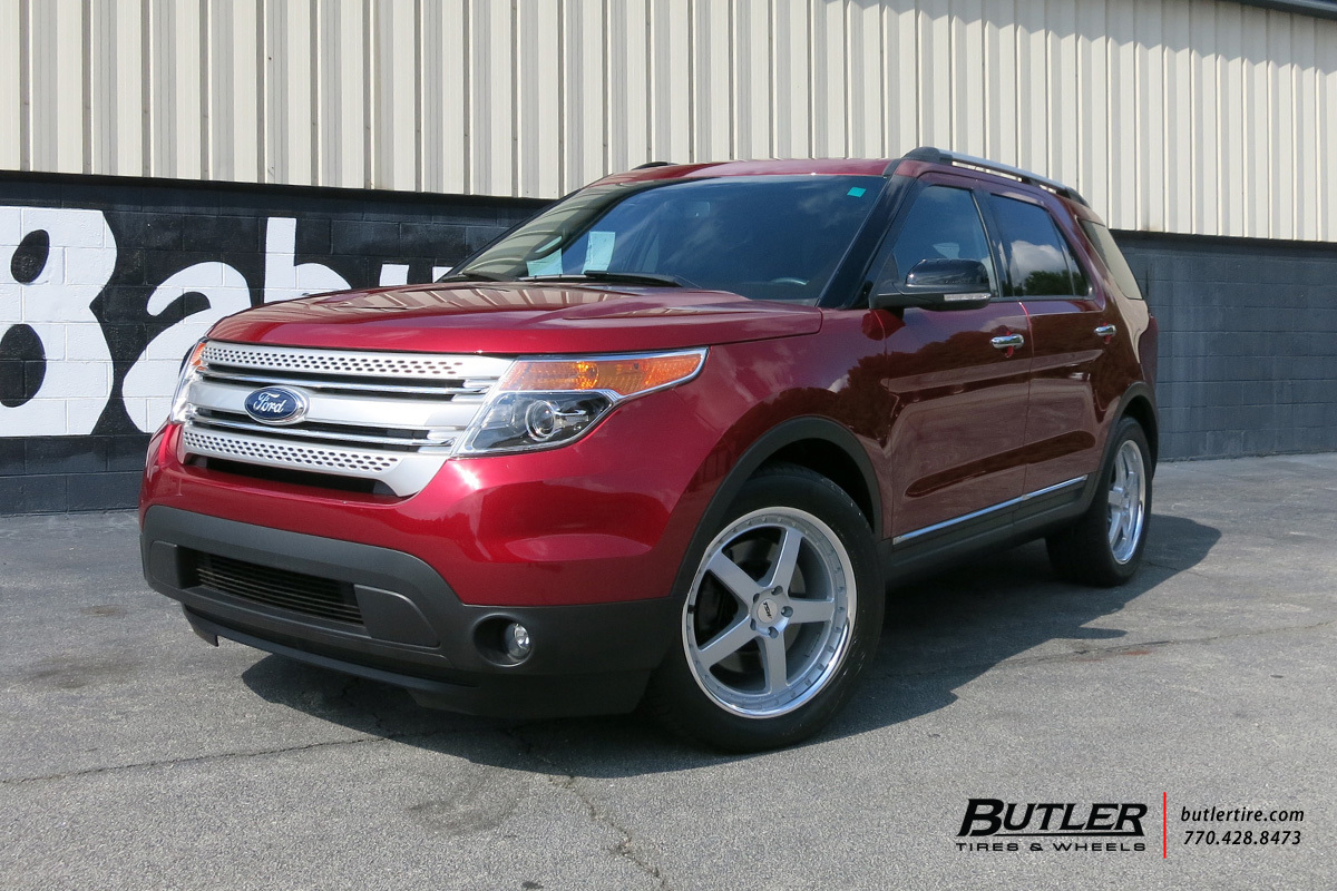 Ford Explorer with 20in TSW Carthage Wheels