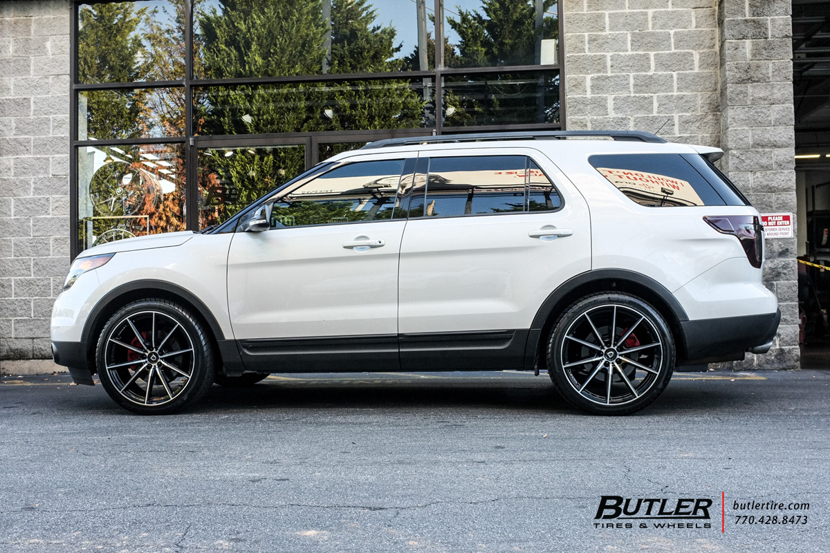 Ford Explorer Off Road >> Ford Explorer with 22in Lexani CSS10 Wheels exclusively from Butler Tires and Wheels in Atlanta ...