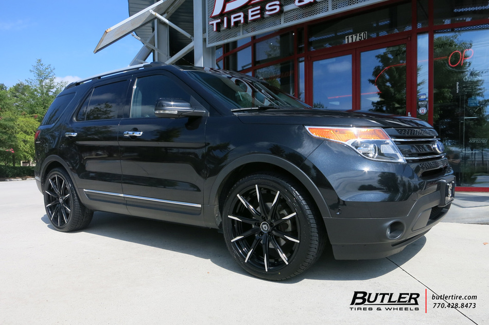 Ford Explorer With 22in Lexani Css15 Wheels Exclusively