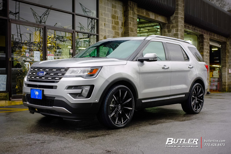 Ford Explorer with 22in Lexani CSS15 Wheels exclusively ...