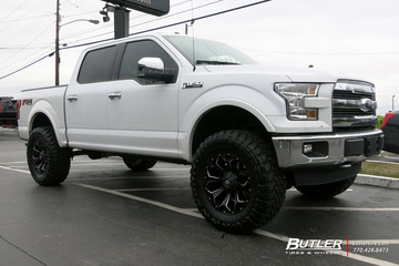 Ford F-150 with 20in Fuel Assault Wheels