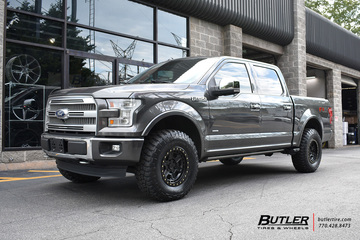 Ford F150 with 17in Black Rhino Reno Wheels