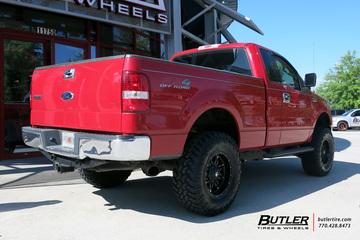 Ford F150 with 17in Fuel Hostage Wheels