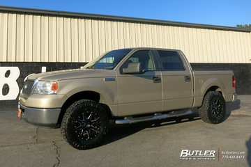 Ford F150 with 17in Fuel Maverick Wheels