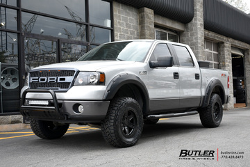 Ford F150 with 18in Black Rhino Attica Wheels
