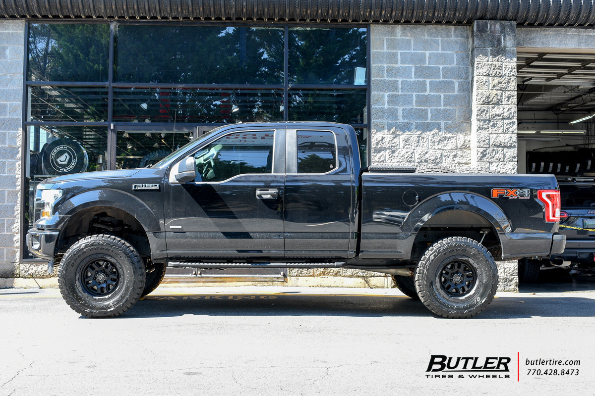 Ford F150 with 18in Black Rhino Barstow Wheels