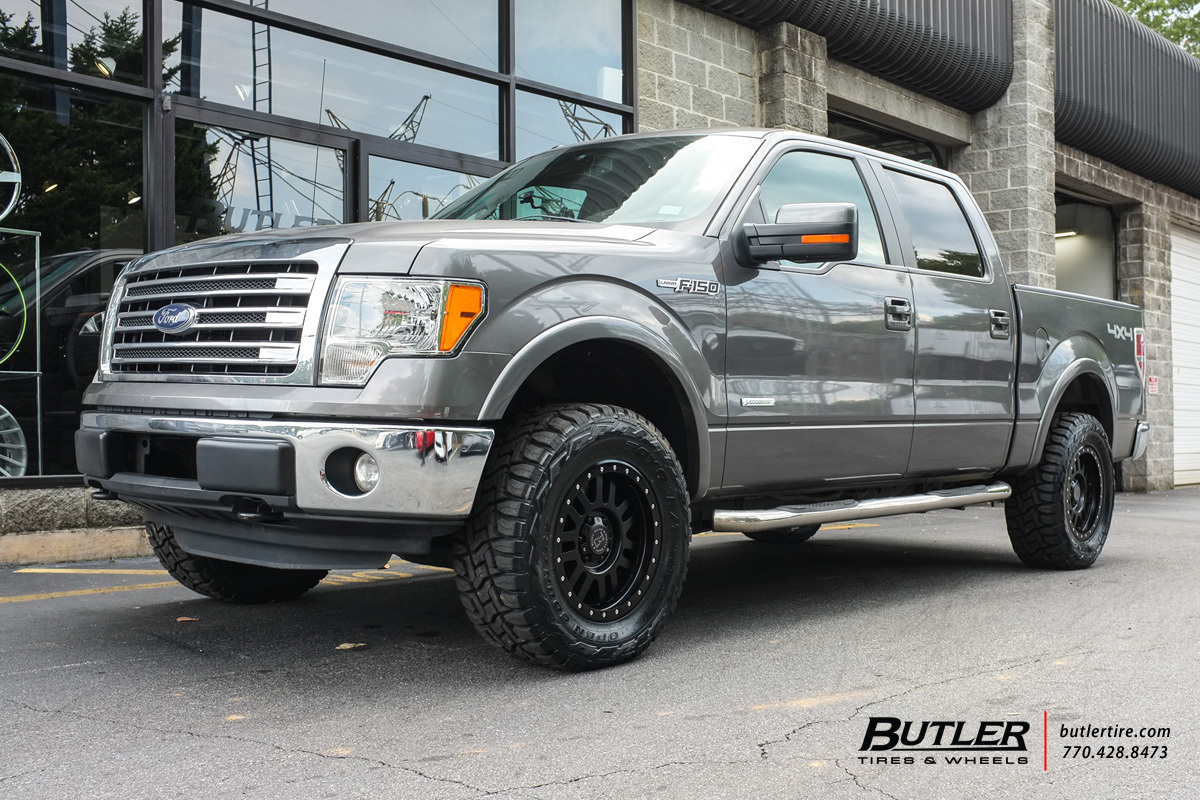 Ford F150 with 18in Black Rhino El Cajon Wheels