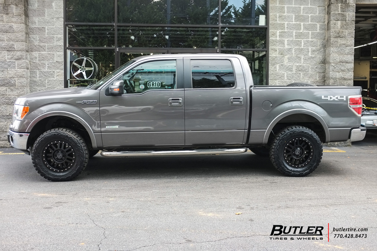Honda El Cajon >> Ford F150 with 18in Black Rhino El Cajon Wheels exclusively from Butler Tires and Wheels in ...