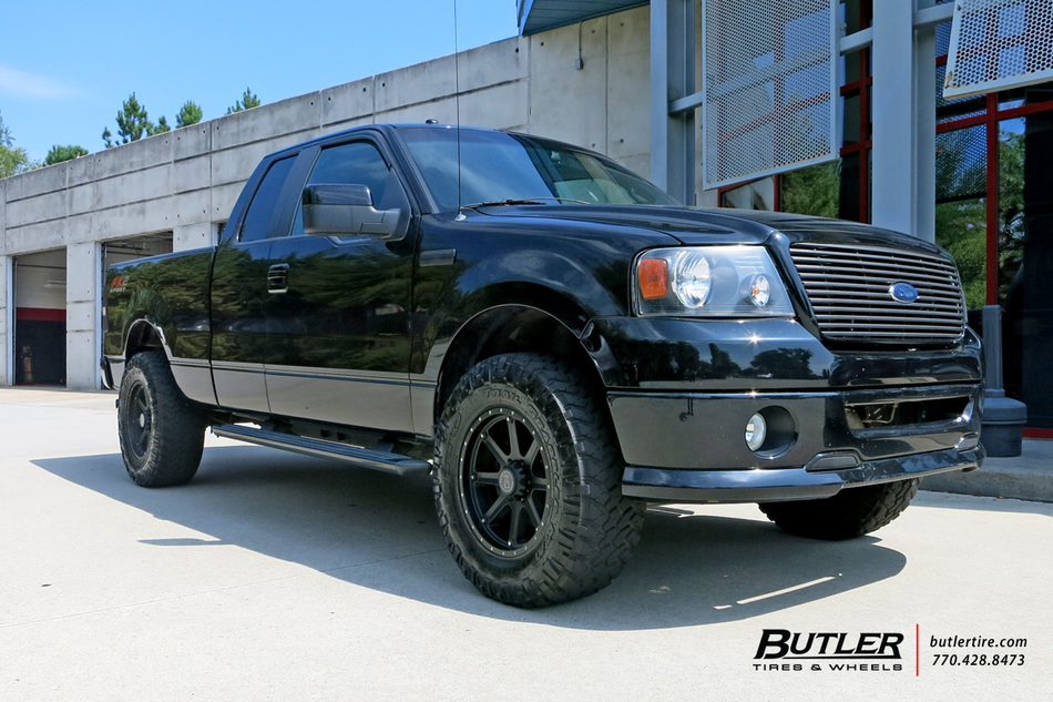 Ford F150 with 18in Black Rhino Moab Wheels exclusively ...