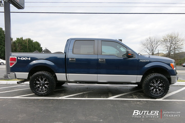 Ford F150 with 18in Fuel Throttle Wheels