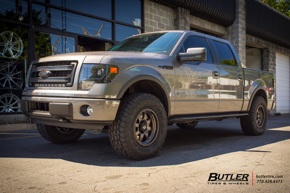 Ford F150 With 18in Fuel Trophy Wheels Exclusively From