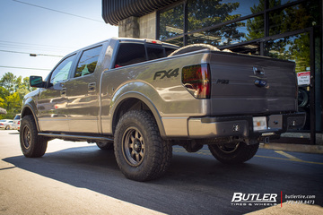 Ford F150 with 18in Fuel Trophy Wheels