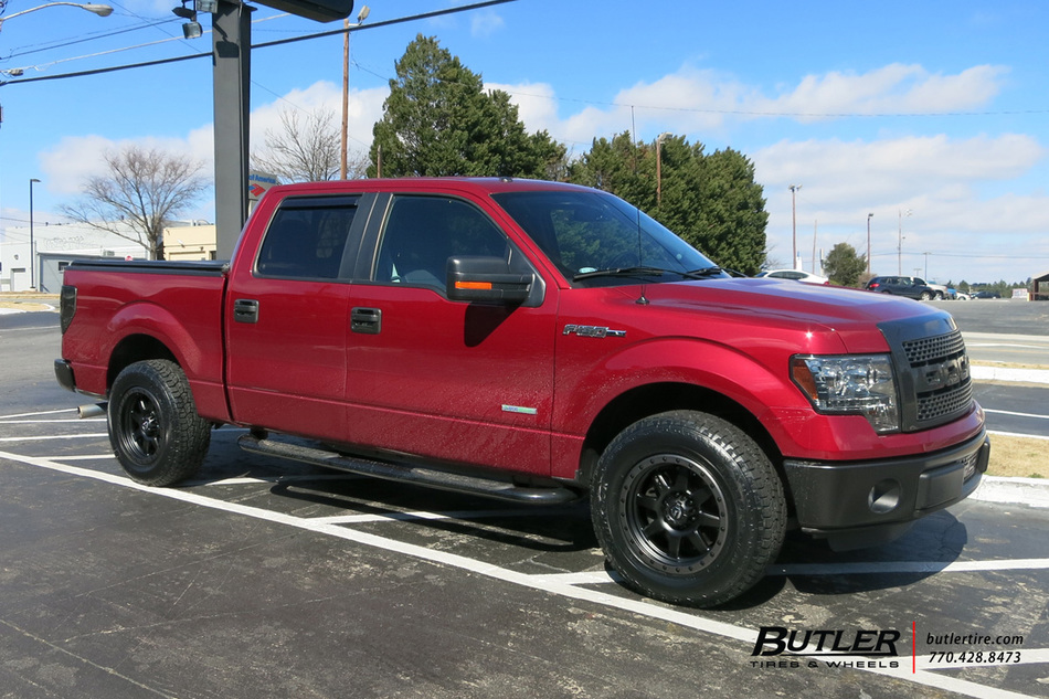 Fuel Trophy Wheels >> Ford F150 with 18in Fuel Trophy Wheels exclusively from ...