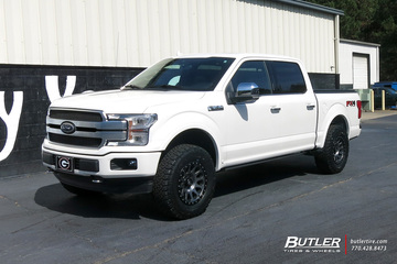 Ford F150 with 18in Fuel Vector Wheels