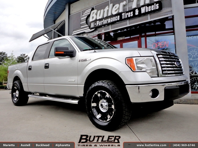 Ford F150 with 18in XD Spy Wheels