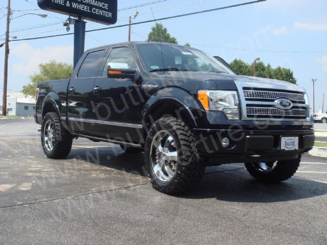 Ford F150 with 20in Antera 341 Wheels