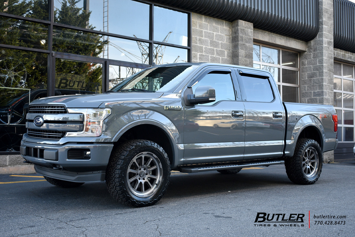 Ford F150 with 20in Black Rhino Chase Wheels